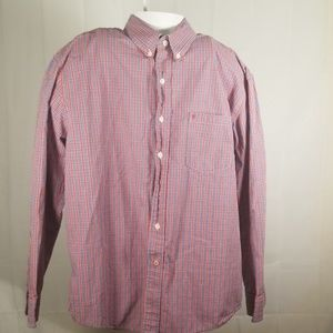 Izod mens long sleeve button down.